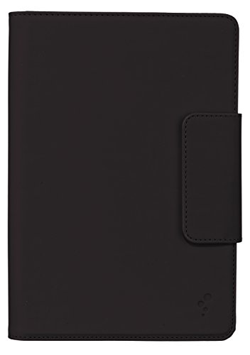M-EDGE Stealth Protective Tablet Case Cover with Closing Clasp and Built-In Stand for 7 inch Tablets such as Google Nexus 7, iPad Mini, Samsung Galaxy Tab 3 (7.0), Kindle Fire HD 7 inch, and Tesco Hudl - Black