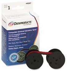(6 Pack Value Bundle) DPSR3027 R3027 Compatible Ribbon, Black/Red