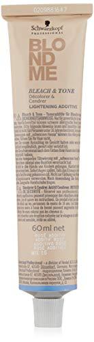 Schwarzkopf Professional BlondMe Bleach & Tone Rosé, 1 x 60 ml