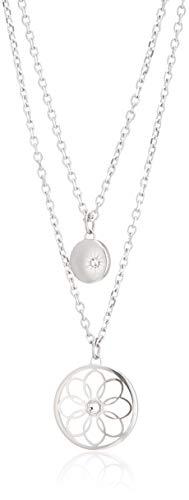 Tommy Hilfiger Casual Core Damen Halskette Edelstahl Silber 49,5 cm