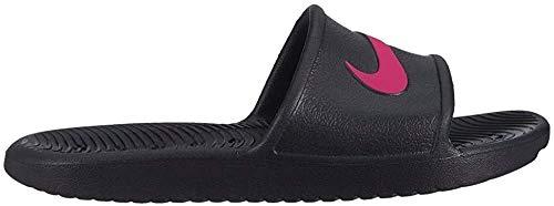 Nike Kawa Shower (GS/PS), Scarpe da Spiaggia e Piscina Unisex-Adulto, Multicolore (Black/Rush Pink 000), 40 EU