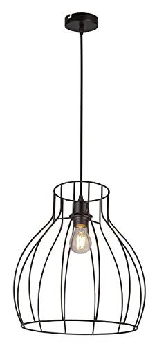 Globo Mina - Lámpara de techo (metal), color negro