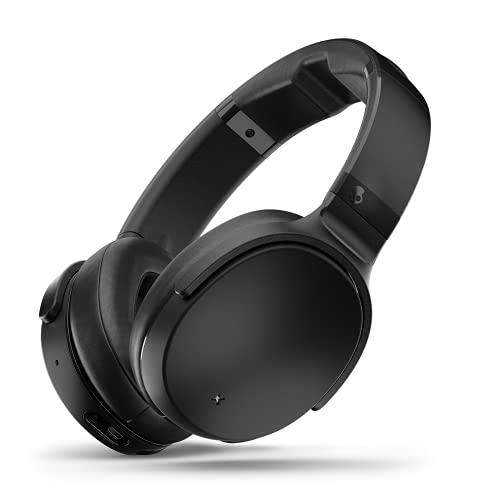 Skullcandy Venue Active Noise Cancelling Kopfhörer, Bluetooth Wireless, Tile-Funktion, Schnellladefunktion mit 24 St&en Batterielaufzeit, Schwarz