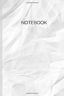 Notebook: Textured Minimal 120pg