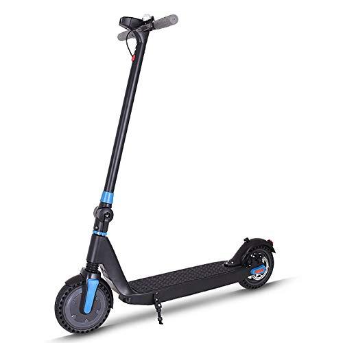 XiYou Scooter eléctrico, Velocidad máxima 25 km/h Kilometraje máximo 25 km Neumáticos sólidos de 8 Pulgadas Carga máxima 100 kg 7.5AH Batería 3 velocidades Adulto Plegable Adecuado para Viajes Cortos