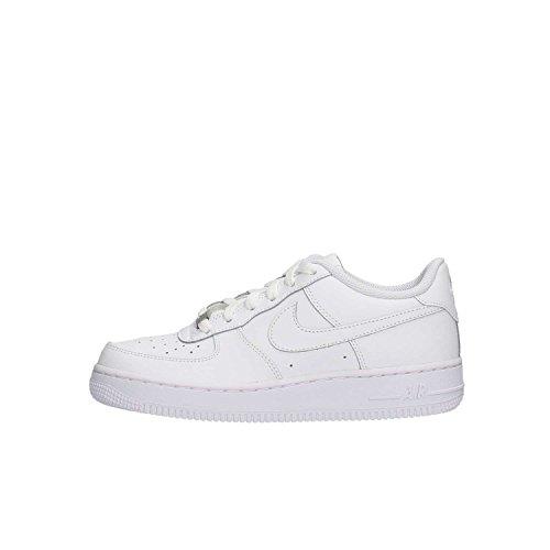 Nike Air Force 1, Zapatillas de Baloncesto Unisex Niños, Blanco (White / White-White), 39 EU