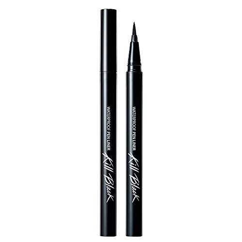 Clio Waterproof Pen Liner, Kill Black/001, 0.018 Ounce