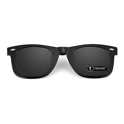 TEAISE gafas de sol polarizadas con clip, con función Flip Up, adecuadas para conducir pesca Deporte al aire libre ⭐