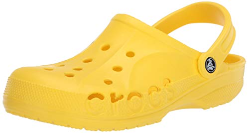 Crocs Baya, Zuecos Unisex Adulto, Amarillo (Lemon 7c1), 46/47 EU