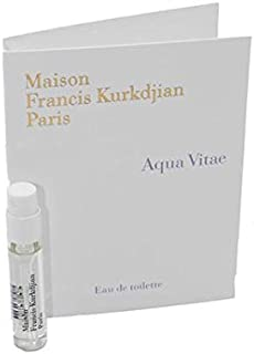 Maison Francis Kurkdjian AQUA VITAE Eau de Toilette, 2ml Vial Spray With Card