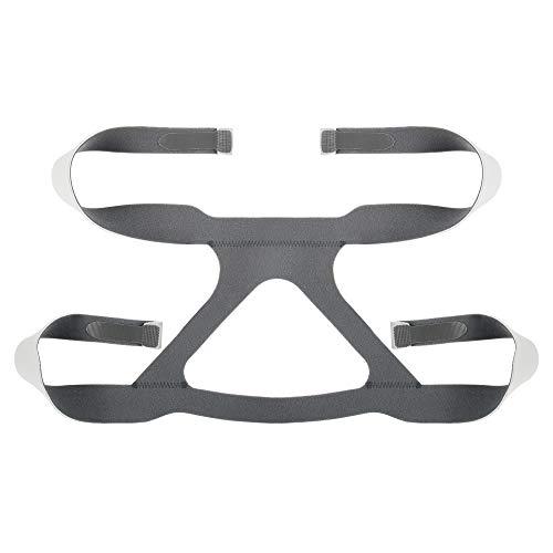 REAQER Universal CPAP Kopfbedeckung für Masken Ersatz-Kopfband 4 Point Anschluss CPAP Kopfband kompatibel mit den meisten Nasal und Face Schlafapnoe Masken