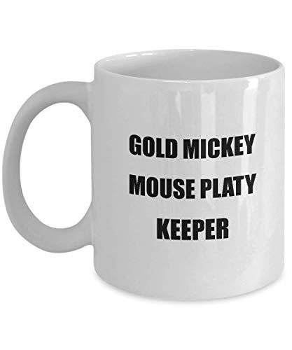DKISEE Taza de café de cerámica con diseño de Mickey Mouse, ideal para hombres y mujeres, para amantes de las mascotas, 325 ml