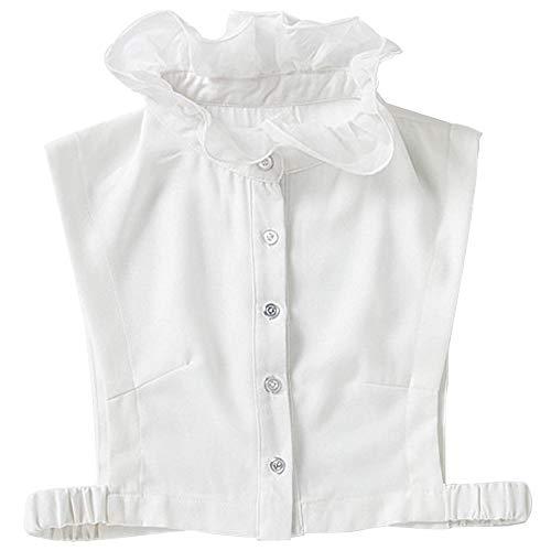 YAKEFJ Women's Fake Collar False Collar Half Shirt Blouse Collar Detachable Collar