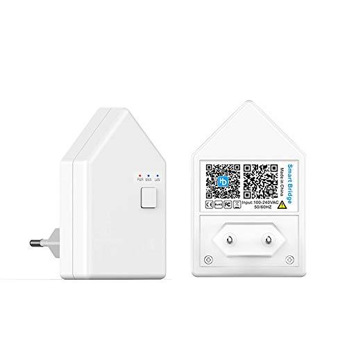 WIFI Bluetooth Mesh Smart Bridge Brücke intelligente Verbindung Wlan, Fernsteuerung möglich, kompatibel mit Alexa, Google Home, IFTTT