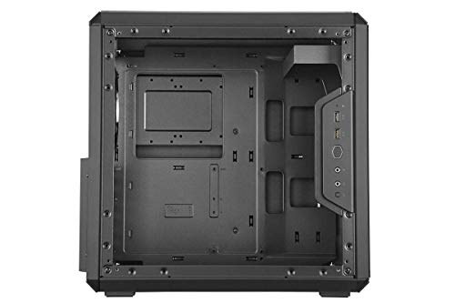 Cooler Master MasterBox Q500L Micro-ATX Tower with ATX Motherboard Support, Magnetic Dust Filter, Transparent Acrylic Side Panel, Adjustable I/O & Fully Ventilated Airflow