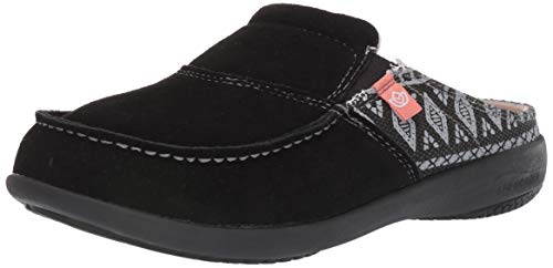 Spenco Women's Casual Mule, Black, 9