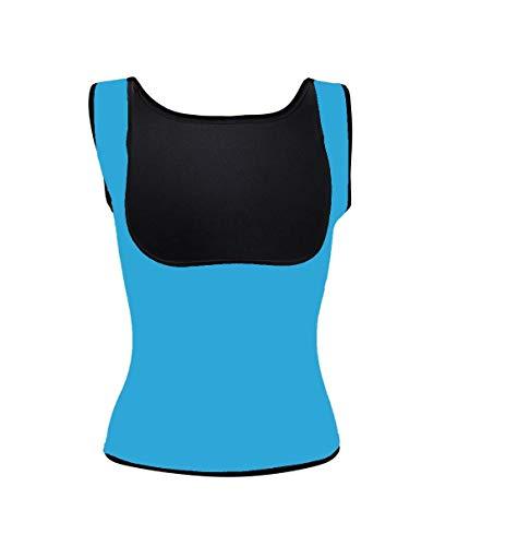 Ducomi Camiseta de fitness para mujer adelgazante y reductor