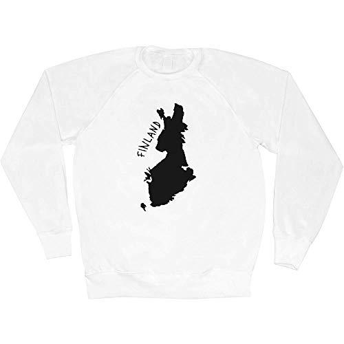 Azeeda Klein 'Finnland' Unisex Sweatshirt / Pullover (SW00019109)