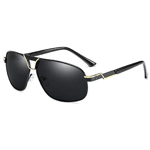 U/A 2 Pcs Gafas De Sol Polarizadas Para Hombre, Gafas De Sol Cuadradas De Metal Para Conducir, Gafas De Sol UV400 Para Hombre