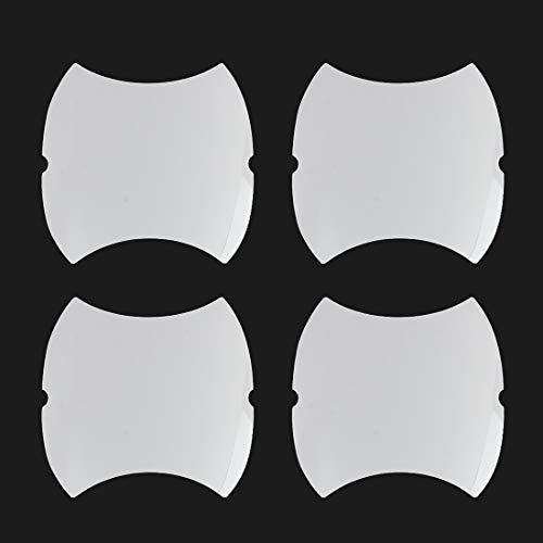 Ralnproof Fllm voor Auto Spiegel Heldere Zijdeur Handgrepen Verf Krassen Beschermende Film Set Automobiles Auto Accessoires Car-styling TPU-CAP Beschermfolie (4 Stks)