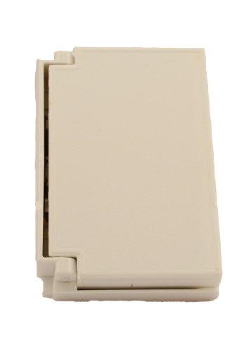Leviton 003-04996-00W Placa Horizontal para Intemperie para Receptáculo Gfci, Blanco, pack of/paquete de…