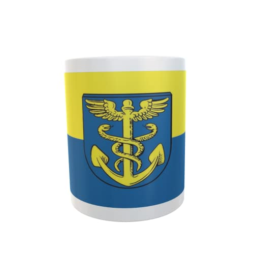 U24 Tasse Kaffeebecher Mug Cup Flagge Rhauderfehn