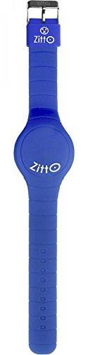 Zitto LED-Uhr mit Silikonband China Blue Blue Groß