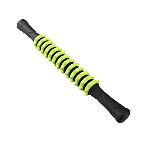 pzcvo Rulo Pilates Rodillo Masaje Muscular Gimnasio de Ejercicio de Rodillos de Masaje Palo Rodillos de Espuma para músculos Green-1,43cm-47cm