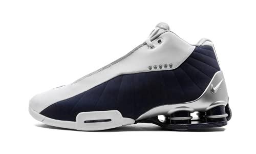 Nike Mens BB4 AT7843 100 USA - Size 10 White/Metallic Silver
