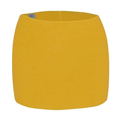 Angora wobera Nierenwärmer oder Leibwärmer, kräftige Ausführung, Gr. L gelb