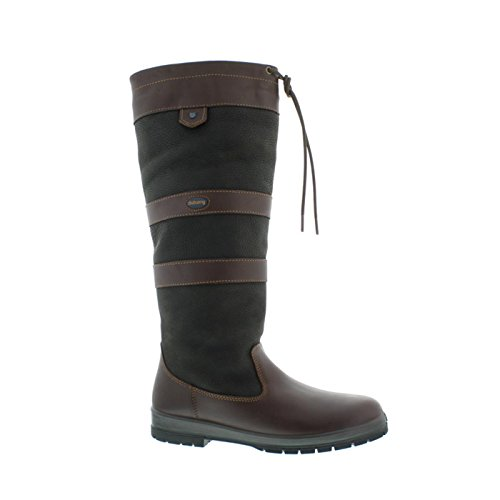 Dubarry Galway, Extra Fit (extraweit), Black/Brown 3931-12, Größe 43