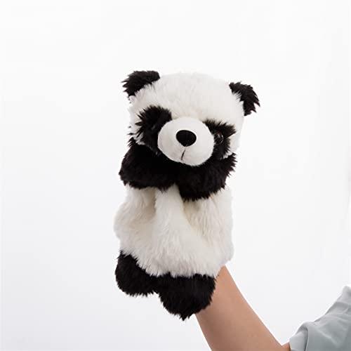 JSJJARF Fingerpuppen Baby Kinder Panda Hand Marionette Spielzeug Erwachsene Kind Interaktive Geschichte Telling Hand Puppe Baby Kinder Puppe Weiche Plüsch Spielzeug (Color : 2)
