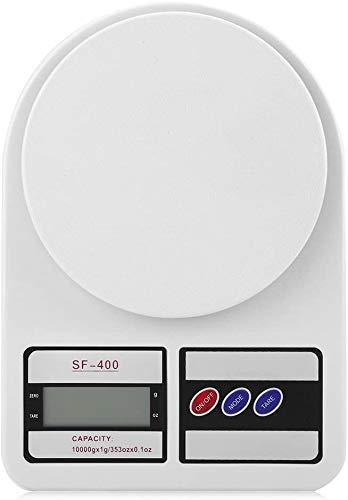 GXT 10kg / 10000g Balanzas de Cocina Balanzas Digitales Electrónicos LCD Slim Design Preciso Preciso Peso Medición Escala de pesaje para el hogar Pequeña