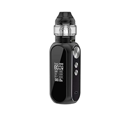 OBS Cube 80W Kit Sigaretta Elettronica Svapo-Niente nicotina e tabacco (Nero opaco)