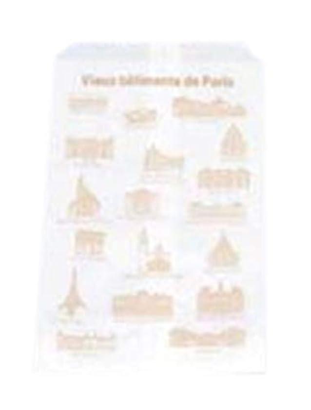 敗北植物学者ためらうアズワン グラシンスナック袋(10枚入)PG-17 パリの古い建物/61-6741-50