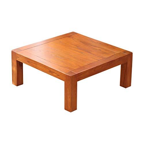 Tables Basse Tatami Carré Basse Chambre en Bois Massif Baie Vitrée Petit Bureau Balcon Japonais Petite Basse Salon Moderne Basses Basses