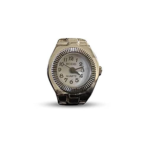 LIHENG Reloj de pulsera para parejas, simple estilo punk, reloj electrónico retro creativo con dedo usado en el dedo 2 cm de largo, una variedad de estilos están disponibles, F.,