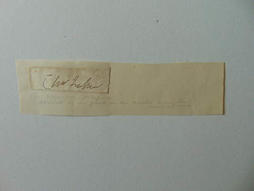 """RARE""""Governor of Sindh"""" Charles James Napier Clipped Signature Todd Mueller COA"""