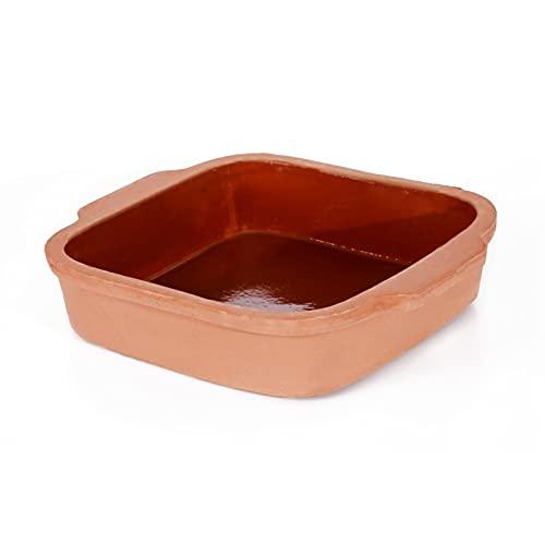 WICKER WEAVING cazuela de la casa Cuadrado Horneado Casserole Bandeja Caja de Cocina Cocina Cocina Cocina Cocina Cocinar Pot Cerámica Piedra Alta Temperatura Resistente hogar, Cocina compartida,