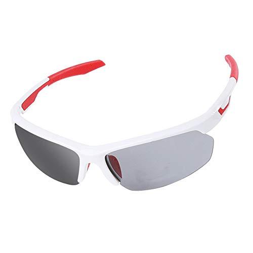 YFFS Gafas De Sol Polarizadas, Gafas De Protección UV400, Borde De Aleación De Al-MG,Gafas Ligeras para Hombres, Conducción, Pesca, Golf Al Aire Libre (A)