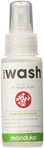 Manduka Matr enew Detergente Spray per Yoga Tappetini, misura viaggio 2oz, 60ML