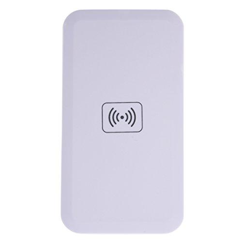 REFURBISHHOUSE Blanco Qi Cargador inalambrico para Samsung Galaxy S4 S5 S6 Edge Note4 3 A8