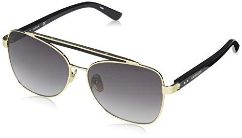 Calvin Klein EYEWEAR Womens CK19527S Sunglasses, BLACK, 5419