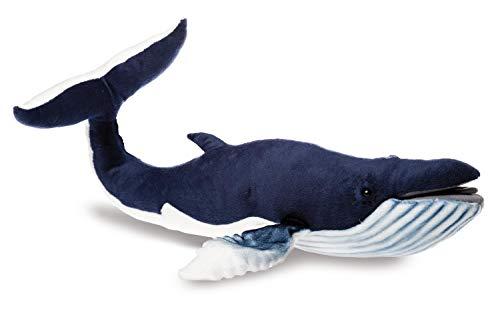 HANSA Wal-Plüschtier, 59 cm, blau