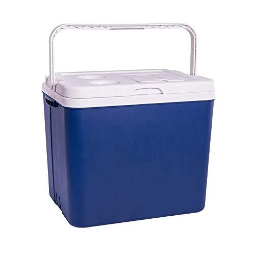 YANGYUAN Cubo de hielo Cubo - Caja de hielo portátil coche de refrigeración Pesca Box Almacenamiento Caja Incubadora del hogar Refrigerador al aire libre Caja de plástico cubo de hielo cubo de marisco