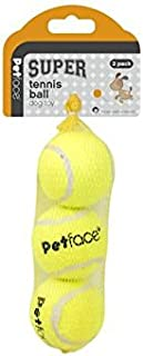 Petface 3 Pack Super Tennis Balls (Pack of 6)