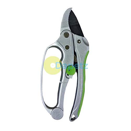 Dapetz® Deluxe Cliquet Sécateurs Jardin Sécateurs Élagage Sécateur 200mm 8\