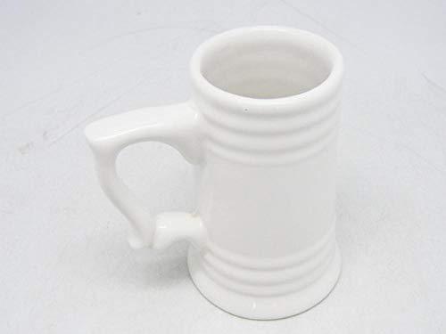 Porcelain Cup Ceramic Beer Jug White Toasted Beer Jugs Various Ceramic Beer Jugs @ 400Ml_White