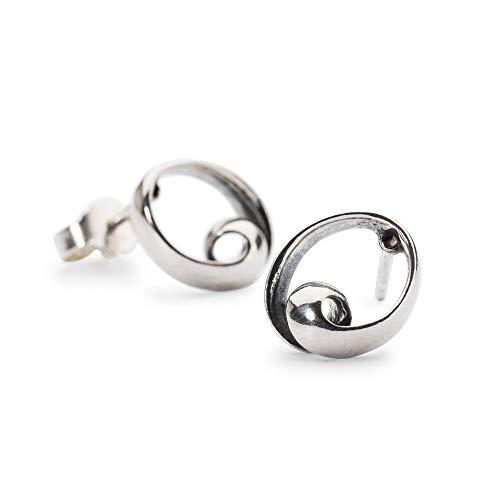 Trollbeads Silber Earring Unendlichkeit Ohrstecker