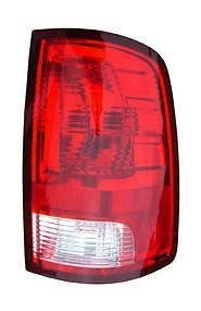 09 - 16 Dodge Ram 1500 Passenger Taillamp Taillight (without LED) NEW 2010-2016 Ram 2500 3500 55277414AF CH2819124